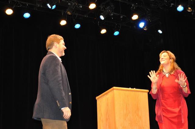 Bill & Marya presenting at Rochester's NextGen grant finalists Nov 2012